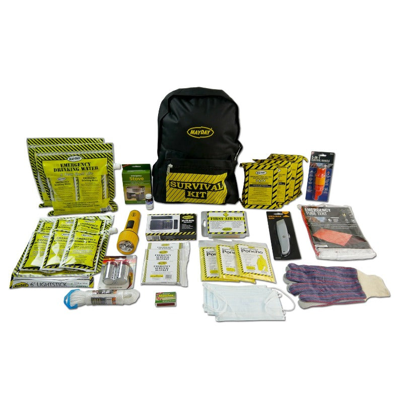 Emergency Backpack Kit - Deluxe (3 Person)-Emergency Kit-PEGlala.com