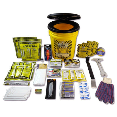 Toilet Bucket Emergency Kit - Deluxe (3 Person)-Emergency Kit-PEGlala.com