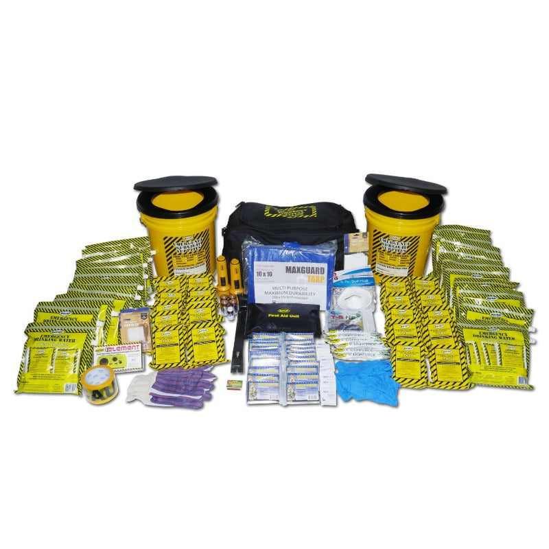 Two Toilet Buckets Emergency Kit - Deluxe (20 Person)-Emergency Kit-PEGlala.com