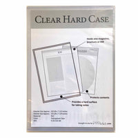 Clear Hard Case for meeting workbook or magazines - PEGlala.com
