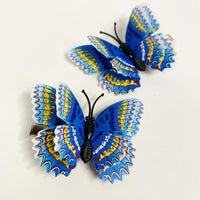 Style F - Blue Butterfly Hair Clips (2 pcs/set) PEGlala.com