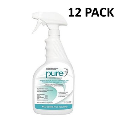 PURE Hard Surface Disinfectant, 32 oz. (Case of 12)  Mayday Pandemic Supplies peglala-com.myshopify.com PEGlala.com