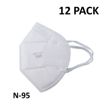 N-95 Face Mask (12 Pack)-Pandemic Supplies-Mayday-PEGlala.com