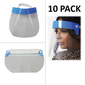 Face Shield (10 Pack)-Pandemic Supplies-Mayday-PEGlala.com