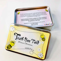 Truth Bee Told Cards-Bible Games-Fun Bible Games-Truth Bee Told Cards (Mature Christians)-PEGlala.com
