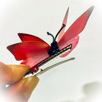 Butterfly Hair Clips (2 pcs/set)- 1 inch Alligator clip PEGlala.com