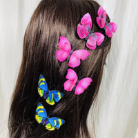 Butterfly Hair Clip Set Assorted (3 Sets) PEGlala Hair Clips peglala-com.myshopify.com PEGlala.com