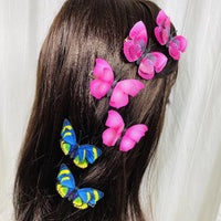 Butterfly Hair Clips (2 pcs/set) Styles GHI- PEGlala.com