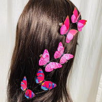 Butterfly Hair Clips (2 pcs/set) Styles JKL- PEGlala.com
