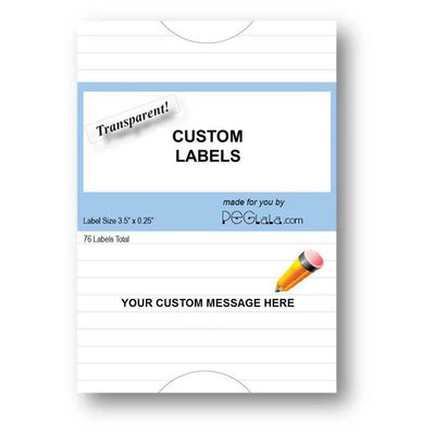 Custom Labels - Your Custom Message-Labels-PEGlala.com