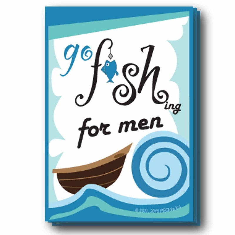 (Digital) Go FISHing For Men (4 Card Games in 1)-PDF-Fun Bible Games-PEGlala.com