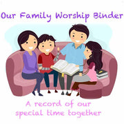 (Digital) Our Family Worship Binder-PDF-PEGlala.com