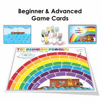 (Digital) The Rainbow Promise Board Game-PDF-Fun Bible Games-Beginner & Advanced-PEGlala.com