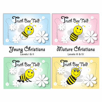 (Digital) Truth Bee Told Cards-PDF-Fun Bible Games-Young and Mature Christians-PEGlala.com