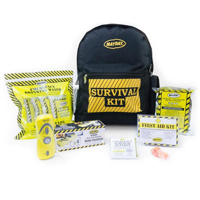 Emergency Backpack Kit - Economy (1 Person)-Emergency Kit-PEGlala.com