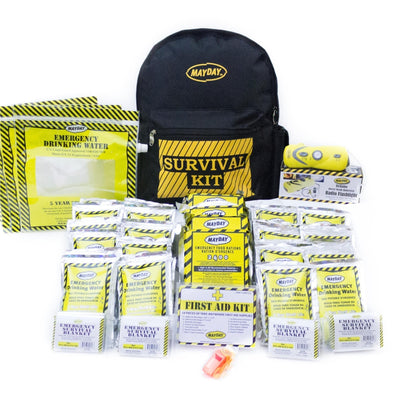 Emergency Backpack Kit - Economy (4 Person)-Emergency Kit-PEGlala.com