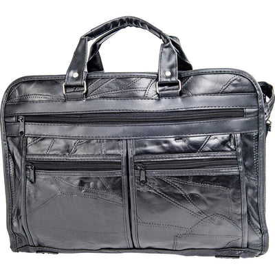 Genuine Leather Briefcase-Bag-Maxam-PEGlala.com