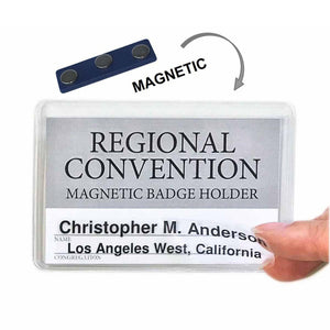 Magnetic Badge Holder-Badge-PEGlala-PEGlala.com