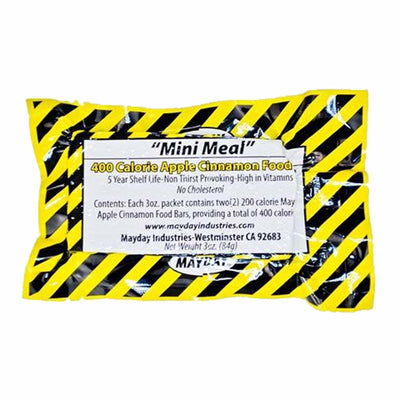 Mayday Mini Meal Emergency Food Bar 400 Cal (20 Count)-Emergency Kit Refill-PEGlala.com