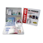 Metal First Aid Cabinet (50 person)-First Aid Kit-PEGlala.com