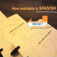 Return Visit Book (Essentials) Spanish PEGlala Notebook peglala-com.myshopify.com PEGlala.com