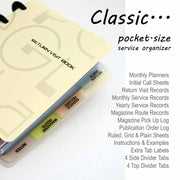Return Visit Book (Classic)-Notebook-PEGlala.com