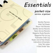 Return Visit Book (Essentials)-Notebook-PEGlala.com