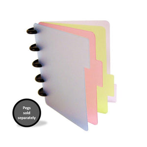 Side Dividers - Assorted-Notebook Refill-PEGlala.com