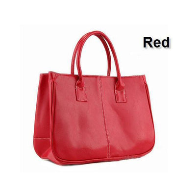 Simply Tote (Red)-Bag-PEGlala-PEGlala.com