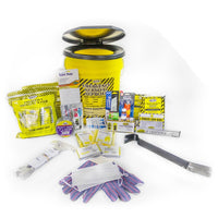 Toilet Bucket Emergency Kit - Deluxe (2 Person)-Emergency Kit-PEGlala.com