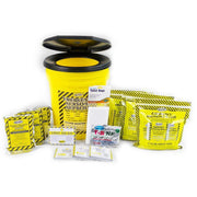 Toilet Bucket Emergency Kit - Economy (3 Person)-Emergency Kit-PEGlala.com