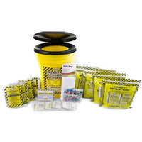 Toilet Bucket Emergency Kit - Economy (4 Person)-Emergency Kit-PEGlala.com