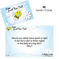 Truth Bee Told Cards-Bible Games-Fun Bible Games-Truth Bee Told Cards (Young Christians)-PEGlala.com