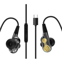 Load image into Gallery viewer, Greliana Dual Driver Type-c Earphone