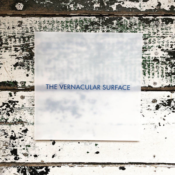 Nurse With Wound - The Vernacular Surface