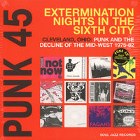 Various - Punk 45 - Cleveland, Ohio: Punk and the Decline of the Mid West 1975-82