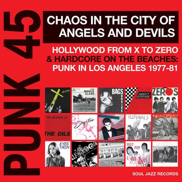 Various - Punk 45 - Punk in Los Angeles 1977-81