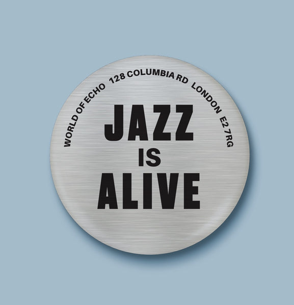 Jazz Is Alive Badge