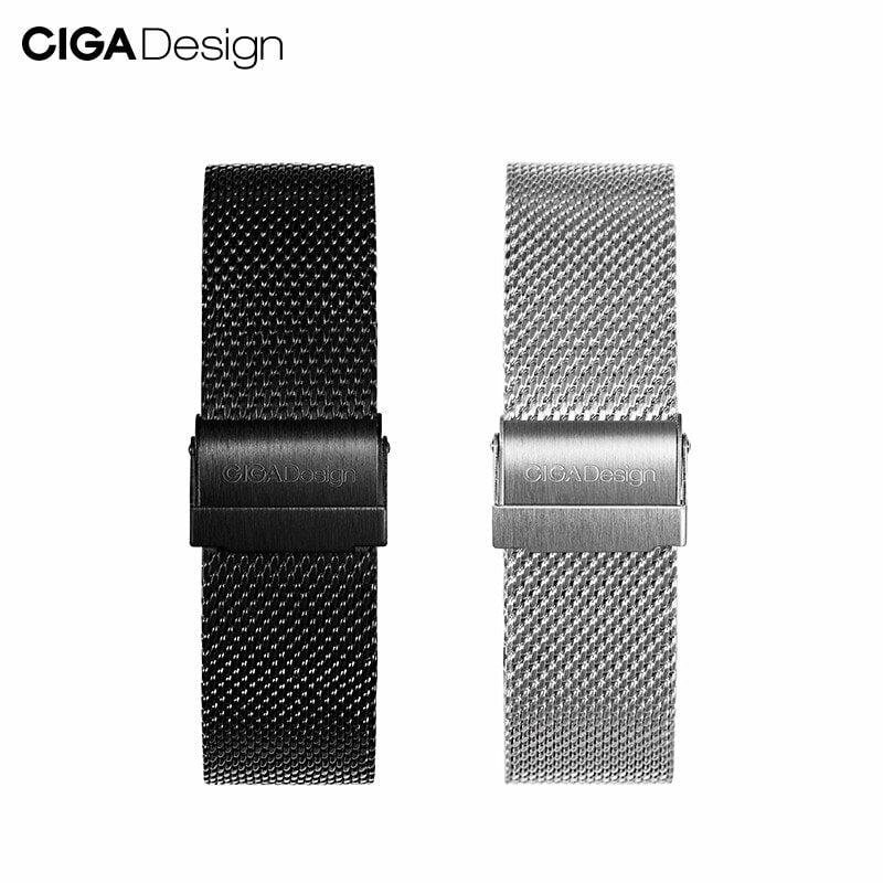 CIGA Design Milanese Mesh Watch Strap Quick Release 22mm