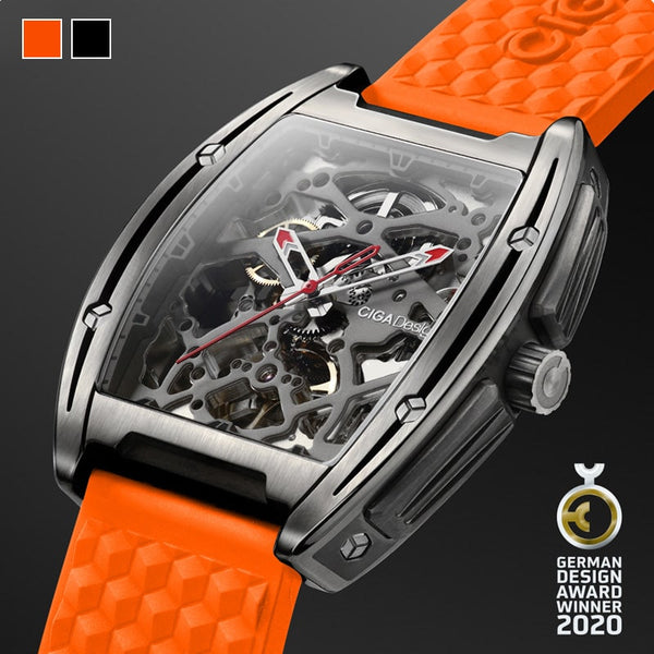 Z-Series Titanium Automatic Mechanical Skeleton Wristwatch