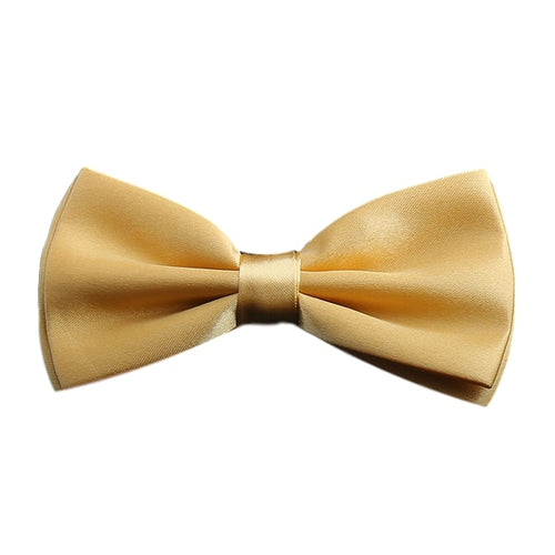 Light Yellow Mustard Bow Tie
