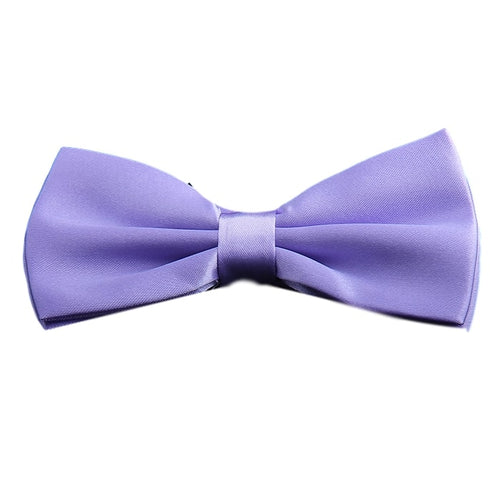 Lavender Purple Bow Tie