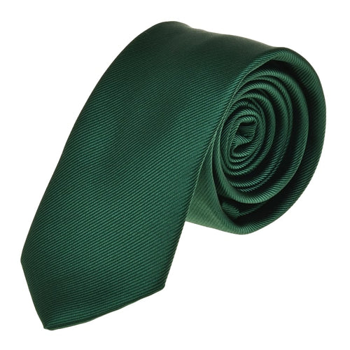 Dark Forest Green Tie Necktie