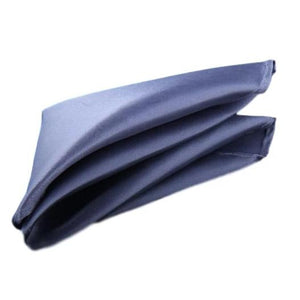 Blue Gray Sky Pocket Square