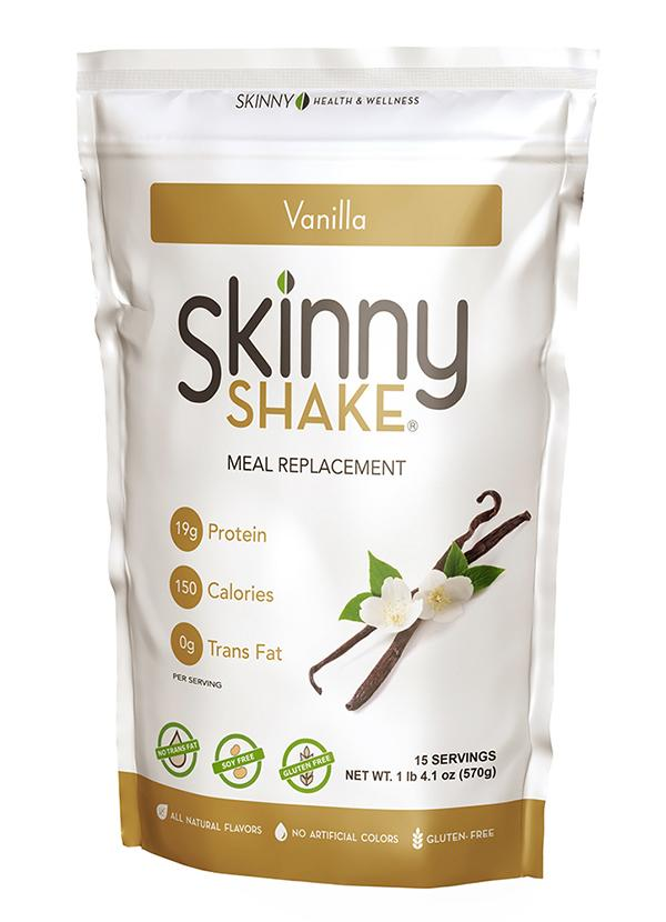 Skinny Shake® Vanilla Meal Replacement – 15 Serving
