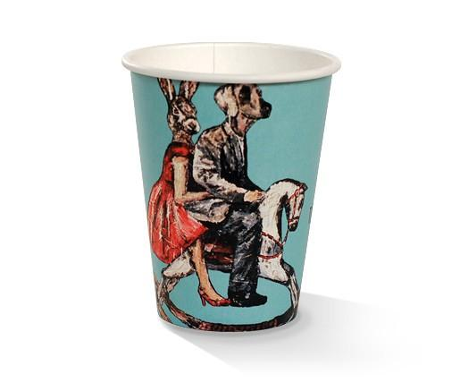 12oz PLA coated Double Wall Cup /Art-Print