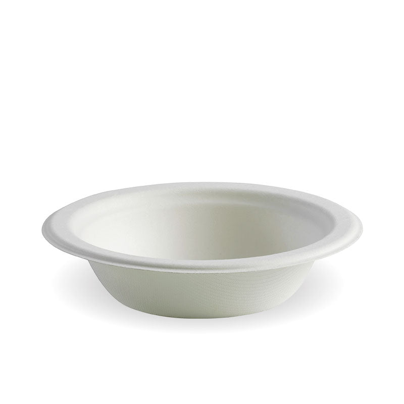 12oz White BioCane Bowl