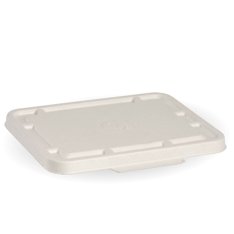 2 & 3 Compartment White BioCane Takeaway Lid