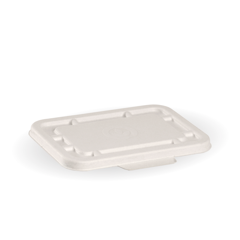 500ml & 600ml White BioCane Takeaway Lid