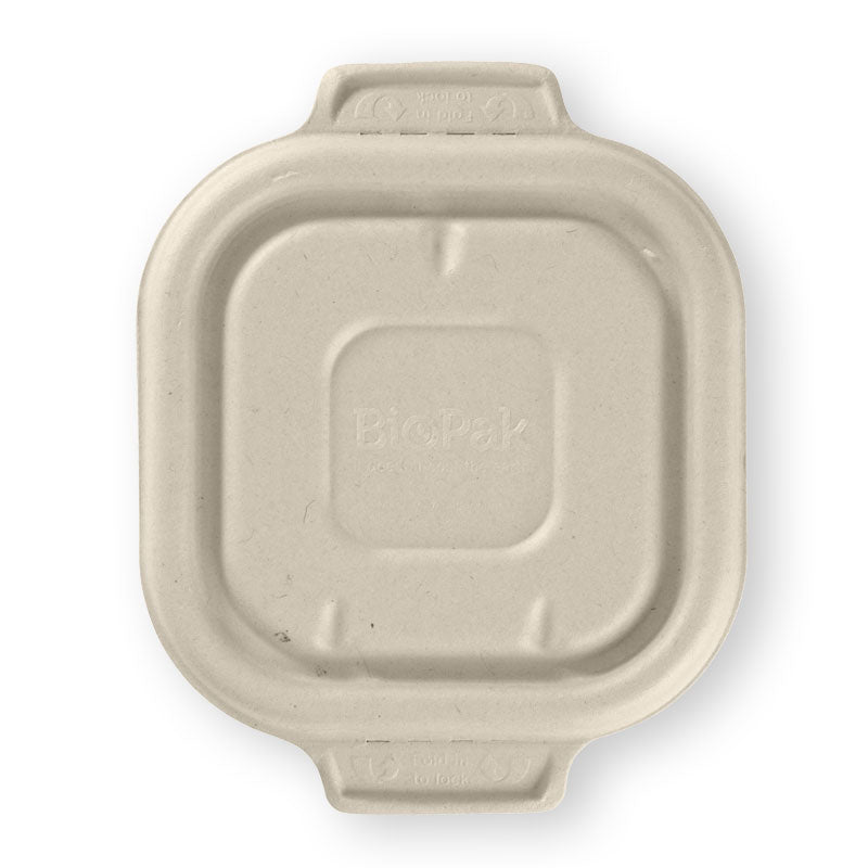 280, 480 & 630ml Natural BioCane Takeaway Lid